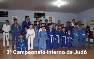 Clube de Judô Buritis realiza seu 3° Campeonato Interno