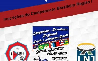 Inscrição do Campeonato brasileiro Regional - Colônia leopoldina - AL