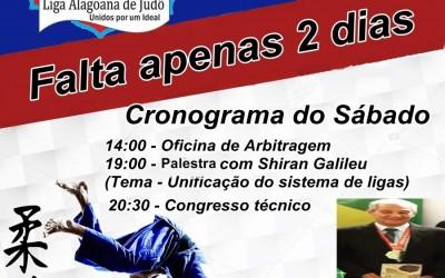 Campeonato Brasileiro de Judô - Região I - Falta apenas 2 dias