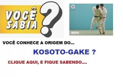 A ORIGEM DO KOSOTO-GAKE
